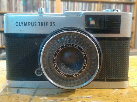 Câmera Fotográfica Olympus Trip 35 - Filme Analógico