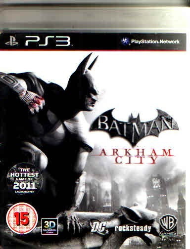 Batman Arkham City Midia Fisica Play 3-original -completo