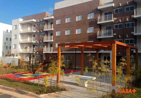 Apartamento Residencial À Venda, 2dorm, Elevador, Lazer Completo. Granja Viana, Cotia. - Ap0331
