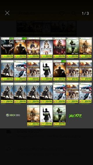11 Jogos De Xbox 360 Em Conta Compartilhada