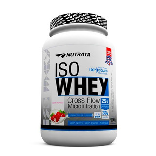 Iso Whey Nutrata 900g - Whey Isolado - Promoção + Brinde