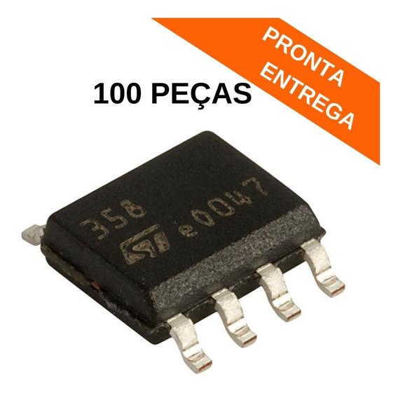 Lm358 Circuito Integrado Smd Soic-8 Lm358dt (100 Peças)