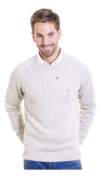 Sweater Cuello Redondo Hilado Cardado Mauro Sergio !