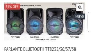 Parlante Bluetooth - 35%off