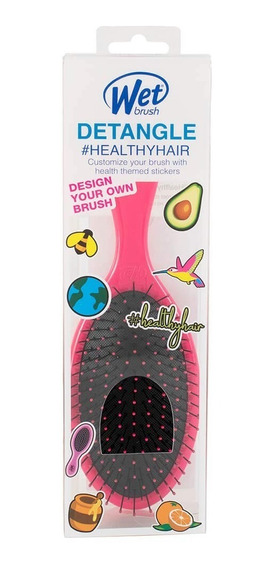 Cepillo Wet Brush Happy Hair Decals 1pz