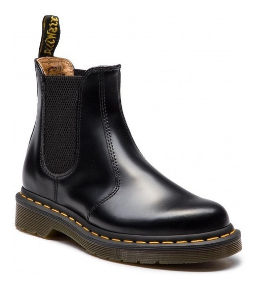 Chelsea 2976 Ys Black Smooth Dr Martens
