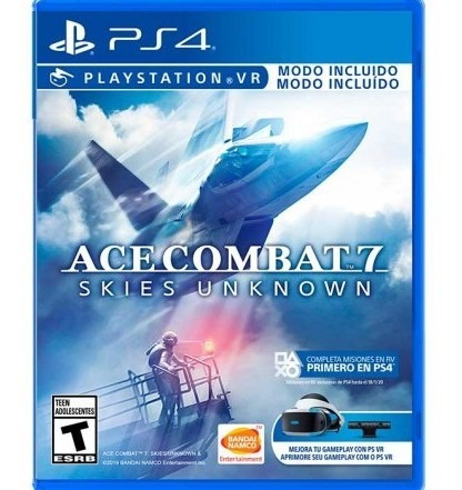 Juego Ps4 Ace Combat 7 Skies Unknown Juego Ps4 Ace C Tk852