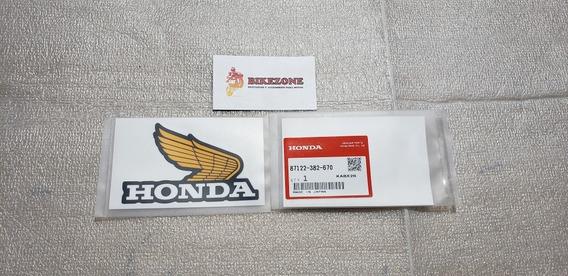 Calco Original Honda Z50 Monkey Ala Tanque Nafta X2 Bikezone
