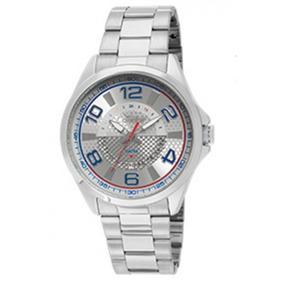 Relógio Condor Aço Prata Visor Prata Com Azul Co2115xl/3k