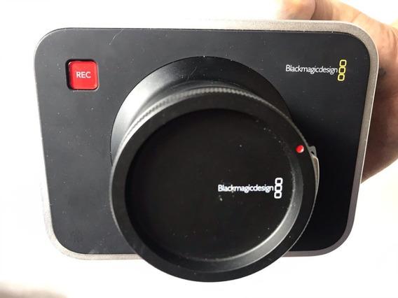 Blackmagic Design Filmadora 2.5k - Cinema Camera Só Retirada Em Sp