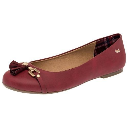Zapato Casual Mujer Ferrioni Vino 84211 Pv19 Envió Gratis