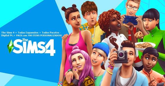 The Sims 4 + Todas Expansões + Todos Pacotes - Digital Pc