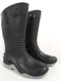 Botas Caucho Para Motociclistas,100% Impermeables Garantia