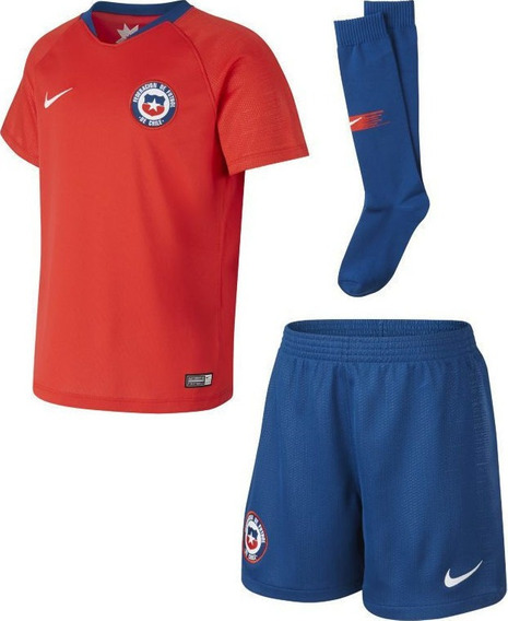 Nike Conjunto Local Chile Nino