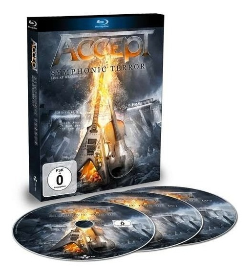 Accept-symphonic Terror: Live At Wacken 2017 2cds,1blu-ray