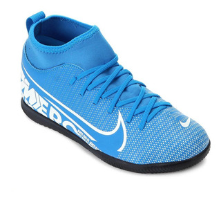 Chuteira Nike Infantil Futsal Mercurial Superfly 7 - At8153-414