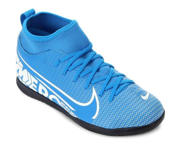 Chuteira Nike Infantil Futsal Mercurial Superfly 7 - At8153-414
