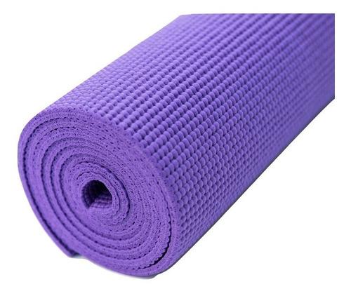 Colchoneta Mat Yoga Pilates Enrollable Premium 6 Mm
