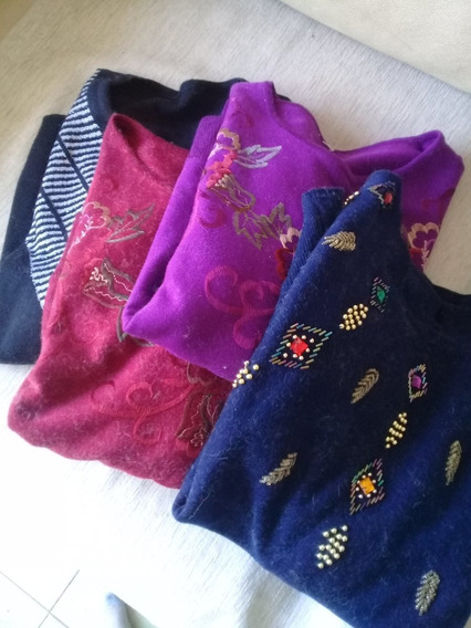 Sweater Pullover Cashmere Dama. Pack 4 Unidades!!!!