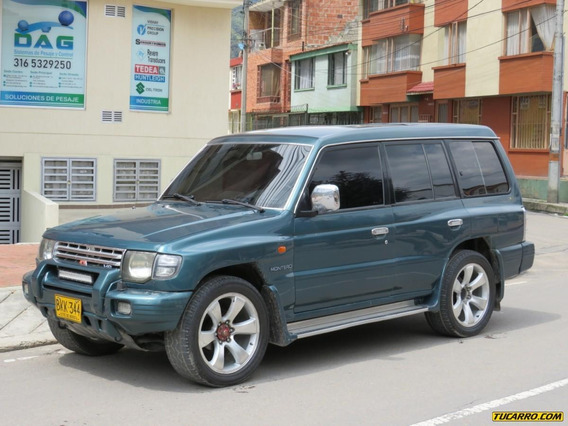 Mitsubishi Montero Wagon At 3500cc 4x4 Europea