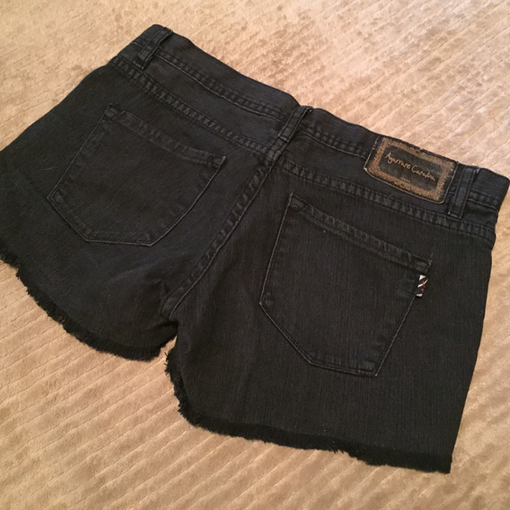 Short Jeans Negro [ Agarrate Catalina ] - Talle 30 / 40