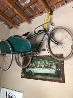 Bicicleta Con Sidecar Para Adultos