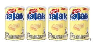 Achocolatado Galak Edição Limitada- 4 Latas(200 Gramas Cada)