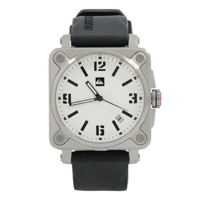 Relógio Masculino Quiksilver Kommander Preto E Branco {taman