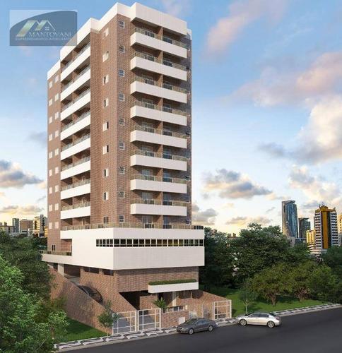 Imagem 1 de 25 de Lançamento Com 1 Dormitório À Venda, 51 M² Por R$ 210.000 - Vila Guilhermina - Praia Grande/sp - Ap2420