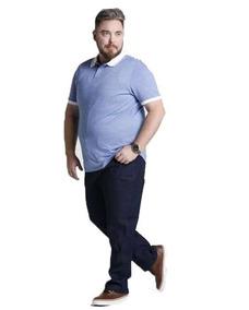 Calça Masculina Jeans E Brim Plus Size Tamanhos Grandes