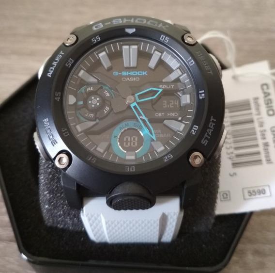 Reloj Casio G-shock Ga2000 Fibra De Carbono 100% Original