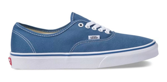 Zapatilla Vans Authentic Navy 100% Original Envío Gratis