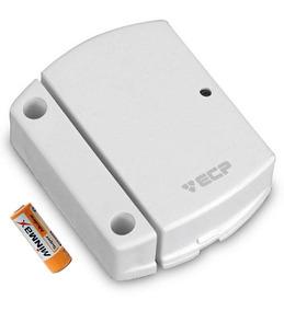 03 Sensores Magnético S/ Fio Ecp Intruder Portas E Janelas