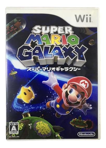 Super Mario Galaxy Japonês - Nintendo Wii Original