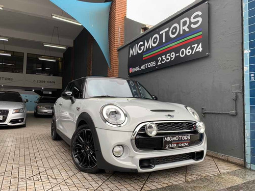Mini Cooper 2.0 S Exclusive Turbo 2p Automático 2016 Blindad
