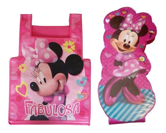 Mi Gran Set De Arte Minnie Mouse + Bata Preescolar