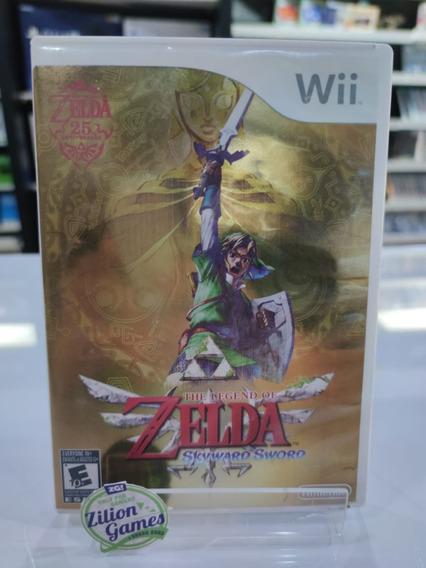 The Legend Of Zelda Skyward Sword Nintendo Wii Completo + Cd