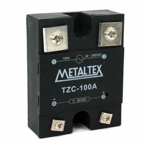 Rele De Estado Sólido Tzc 100a Metaltex