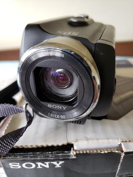 Filmadora Hd Sony Dcr-sr20 + Bolsa Sony + Cartão 8gb
