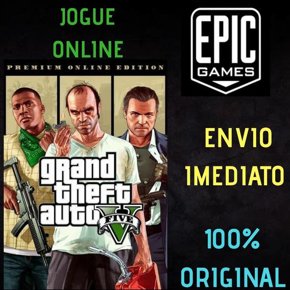 Gta 5 Edição Premium Online Pc Original - Epic Games