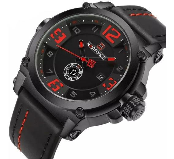 Reloj Hombre Deportivo Militar Cuarzo Analógico Con Fechero