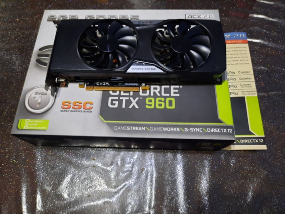 Placa De Video Geforce Gtx 960 2gb Gddr5