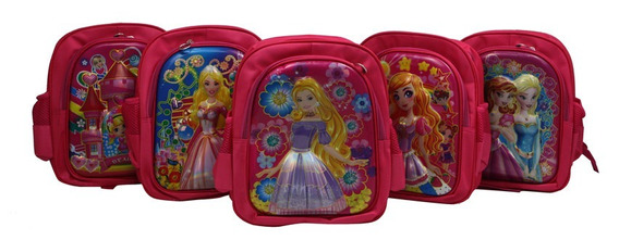 Mochila Infantil Princesa Classe Ma 5739-8d