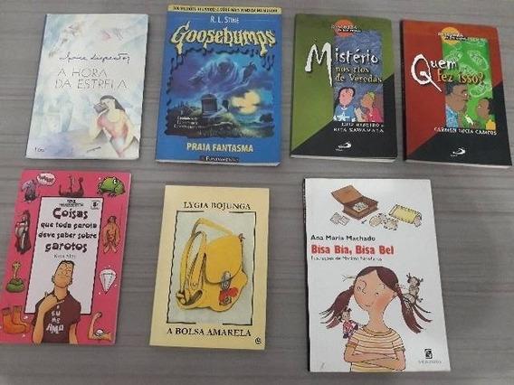 Kit Com Livros Infanto_juvenis Seminovos Em Estado De Novos!