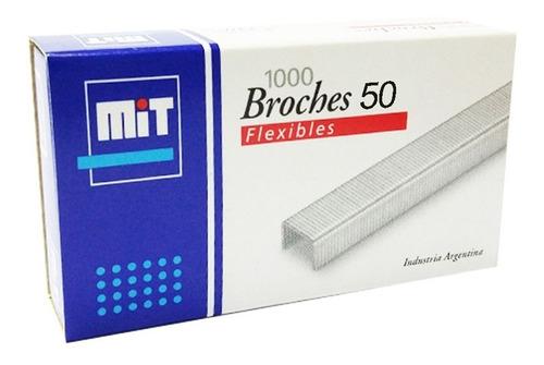 Broches Mit 50 X1000 Ganchos Para Abrochadoras