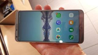 Celular Lg G6 H870 Platinum 64gb Câmera 13mp (impecável)