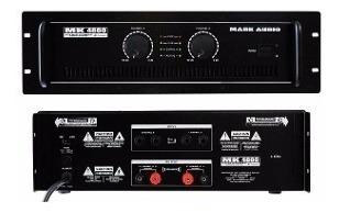 Amplificador Potência Mark Audio Mk4800 800w P R O M O Ç Ã O