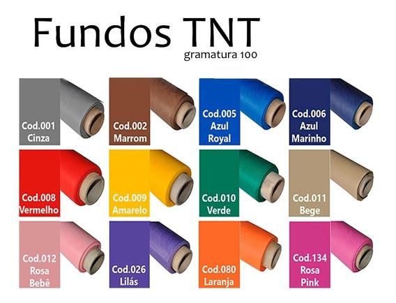 Fundo Infinito Fotográfico Liso De Tnt - Tamanho 2,00x2,80m