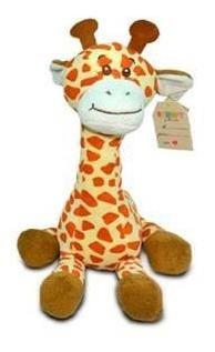 Girafa Sentada De Peluche De 25cm