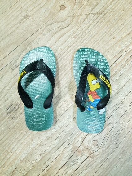 Sandálias - Havaianas Kids Simpsons